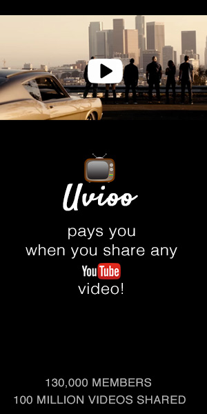 UVIOO – Get paid to share videos